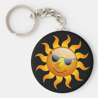Summer Sun funny Keychain