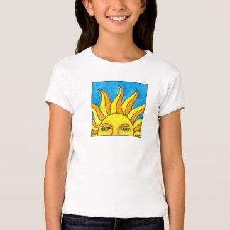 Summer Sun Girl's Babydoll T Tshirt