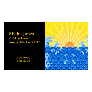Summer Sun Summer Waves Double-Sided Standard Business Cards (Pack Of 100)