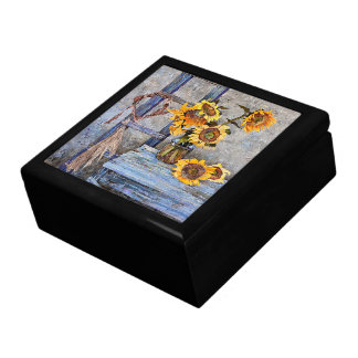 Summer Sunflower Flowers Floral Gift Box