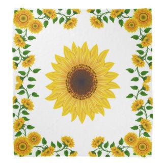 Summer Sunflower Scarf Bandana