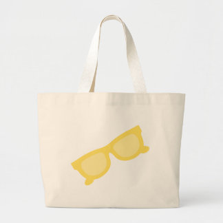 Summer sunglasses yellow hipster eyewear glasses bag