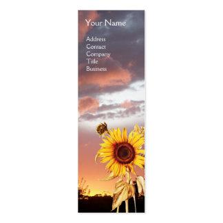 SUMMER SUNSET BUSINESS CARD TEMPLATE