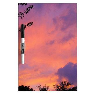 Summer Sunset Dry Erase Board