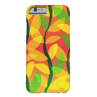 Summer Sunset Leaves Barely There iPhone 6 Case