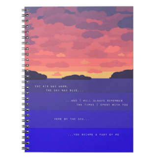 Summer Sunset Notebooks