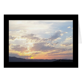 Summer Sunset- Song of Sol. 4:7 Greeting Card