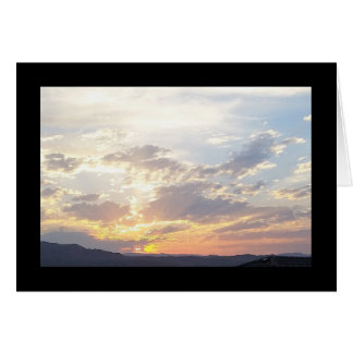 Summer Sunset- Song of Sol. 5:16 Greeting Card