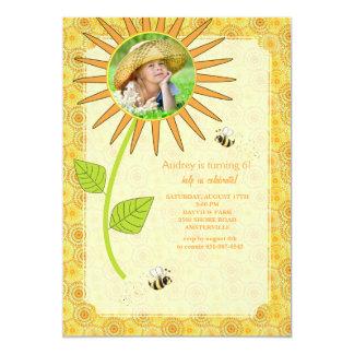 Summer Sunshine Photo Invitation