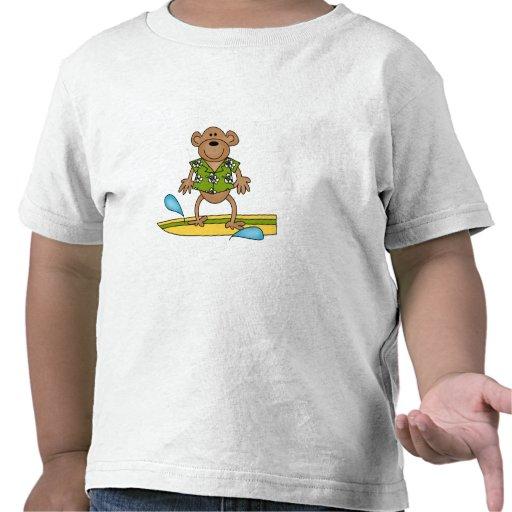 Summer Surfer Monkey Tees