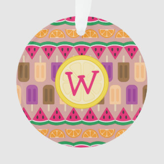 Summer Sweets Acrylic Ornament