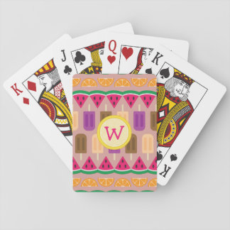 Summer Sweets Classic Playing Cards