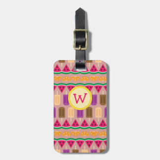 Summer Sweets Luggage Tag