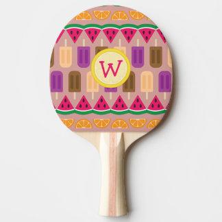 Summer Sweets Ping Pong Paddle