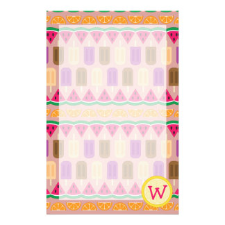 Summer Sweets Stationery