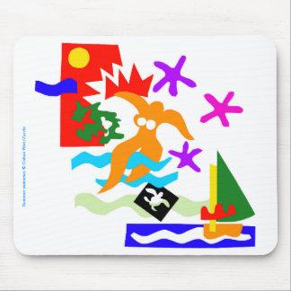 Summer swimmer -Mousepad Mouse Mat