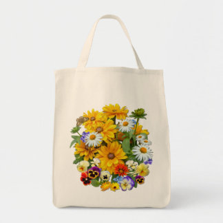 Summer Symphony ~ Grocery Tote