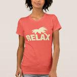 Summer t shirt for women | Relax palm tree print