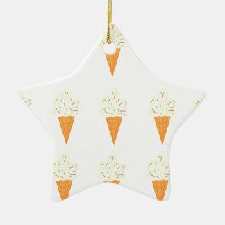 Summer Themes Ceramic Star Decoration