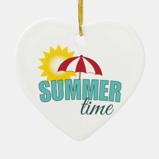 Summer Time Christmas Ornament