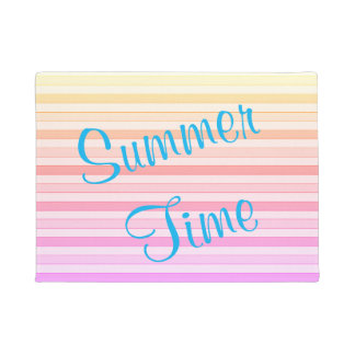 Summer Time Door Mat