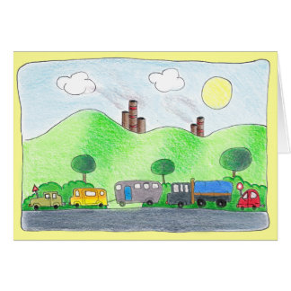 Summer Time Drive Greeting Card