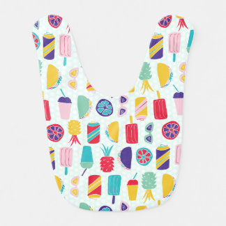 Summer Time Fun - Baby Bib