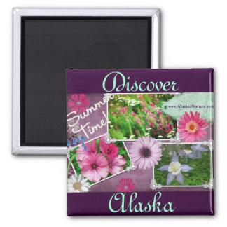 Summer Time In Alaska Magnet