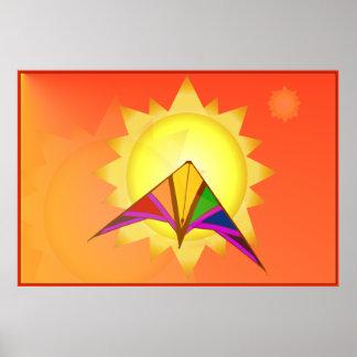 Summer Time Kite Poster