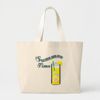 Summer Time Lemonade Jumbo Tote Bag