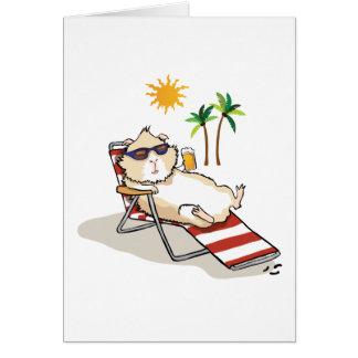 Summer Time Piggy Card