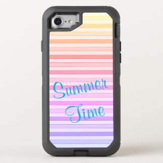 Summer Time Stripes Otterbox Case