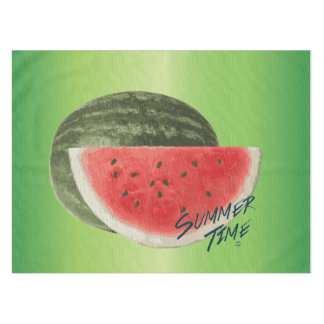 Summer time- watermelon tablecloth