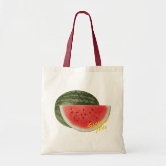 Summer time- watermelon tote bag
