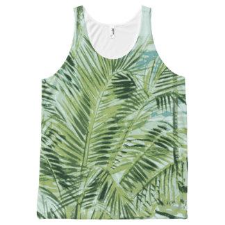 Summer Tropical Palm Tree Tank