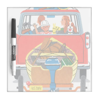 Summer Vacation Dry Erase Boards