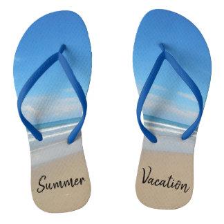 Summer Vacation Flip Flops