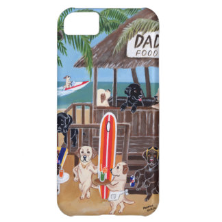 Summer Vacation Labradors Painting iPhone 5C Case