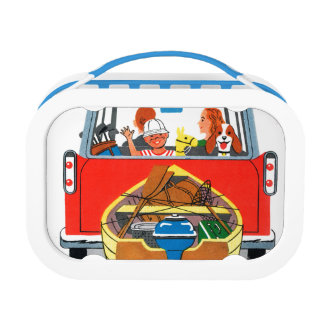 Summer Vacation Lunch Box