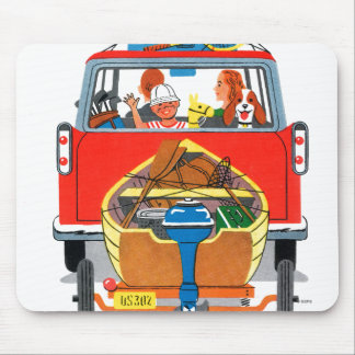 Summer Vacation Mouse Mat