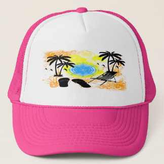Summer Vacation Trucker Hat