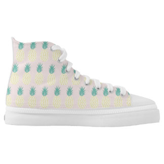 Summer vibe High Top Shoes Printed Shoes