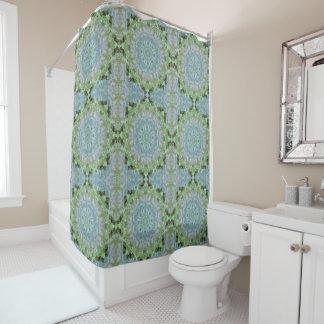 Summer Violet Mandala Shower Curtain