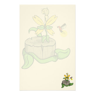 Summer Visitors Stationery