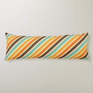 Summer Warmth Stripes Pattern Body Cushion