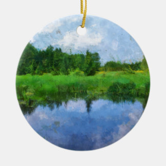 summer water christmas ornament