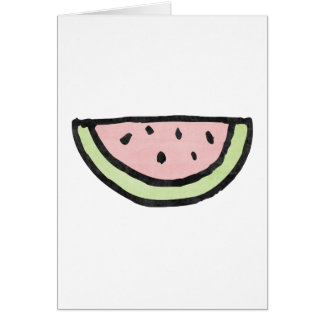 Summer Watermelon Card