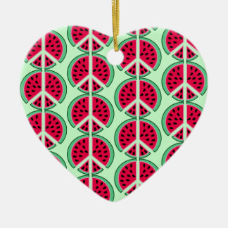Summer Watermelon Christmas Ornament