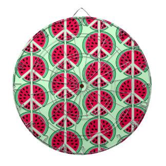 Summer Watermelon Dart Boards