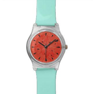 Summer watermelon watch design